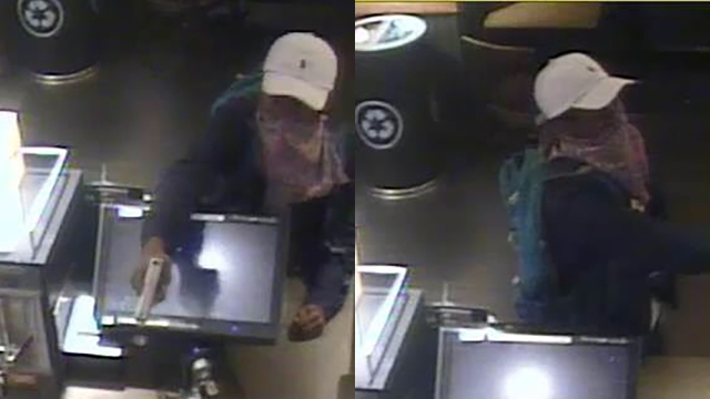Help ID suspect in armed robbery of Starbucks in Asheville