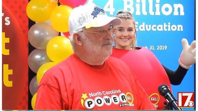 Charles W. Jackson on Tuesday at NC Lottery Headquarters. CBS 17 photo_1559688054432.jpg.jpg