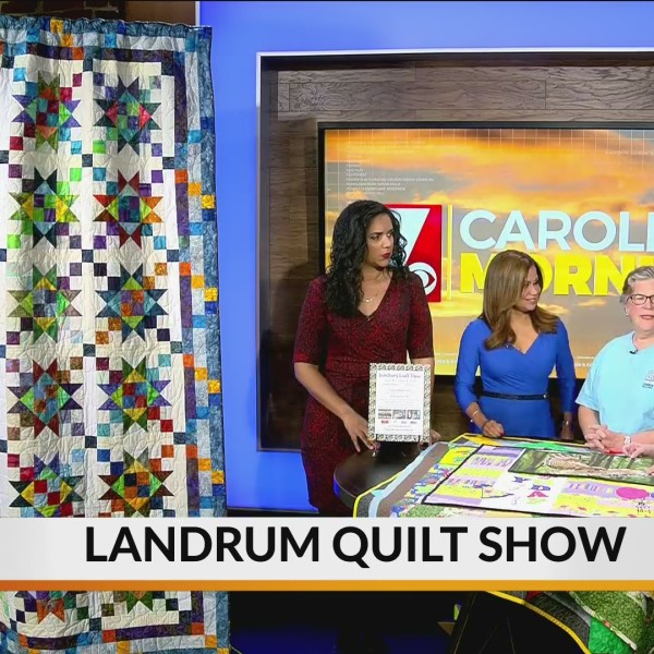 Landrum Quilt Show kicks of this week