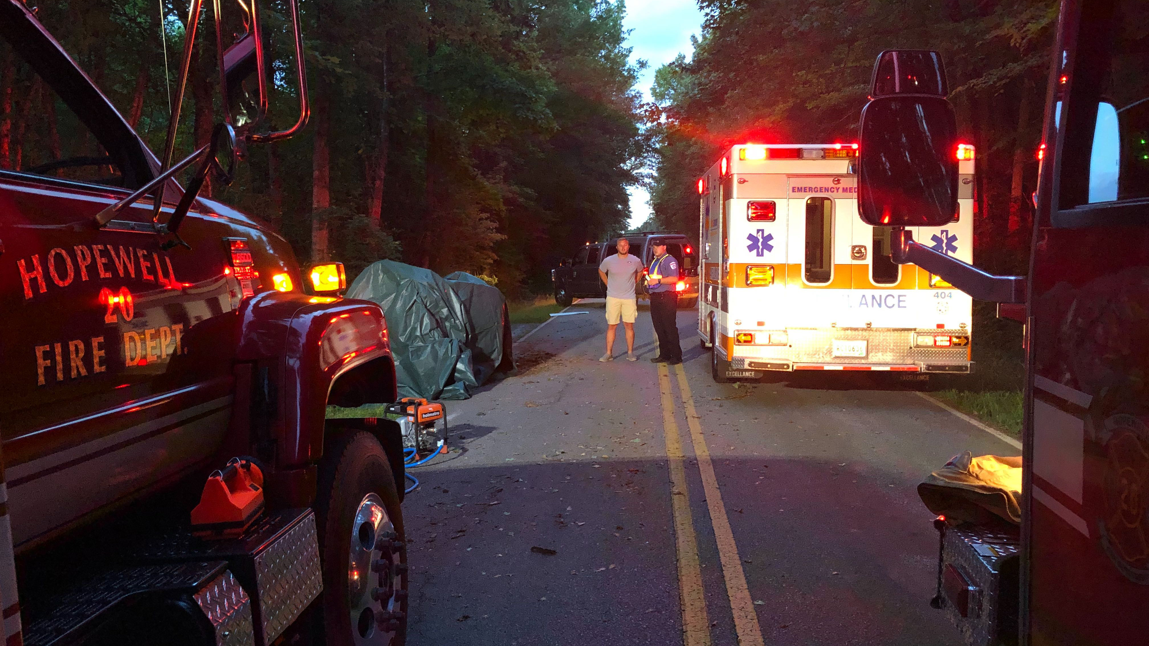 1 dead after crash on Slater Rd  in Anderson Co