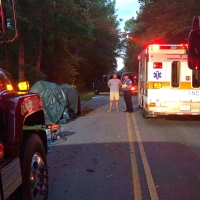 Crash on Slater Road in Anderson County