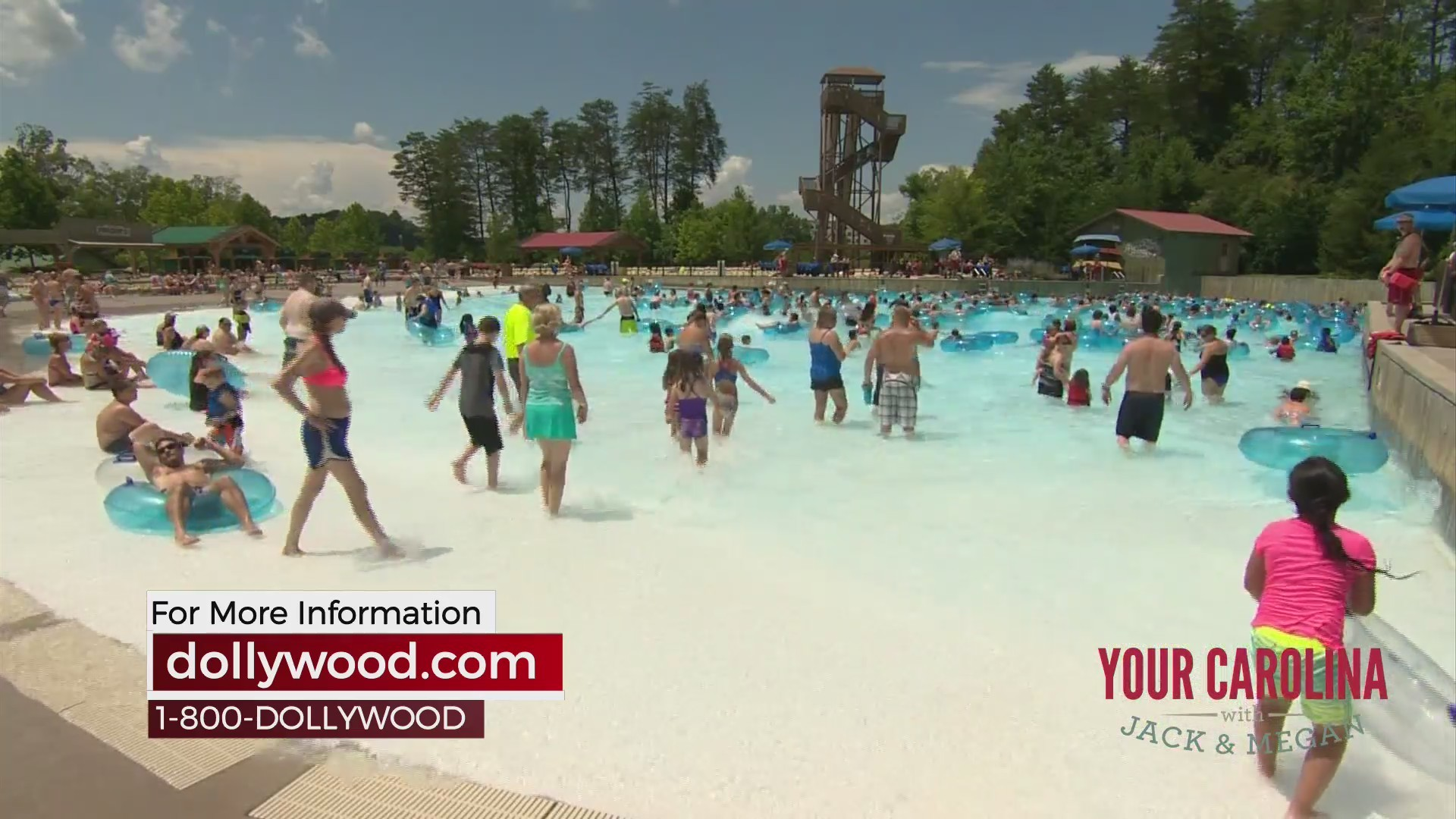 Splash Country Open At Dollywood