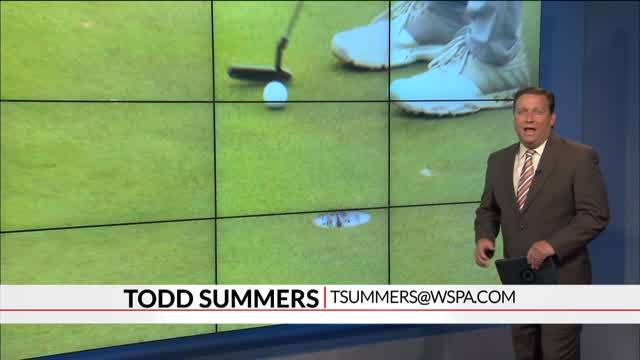 Wofford's Andrew Novak in Contention Through Two Rounds of BMW Charity Pro-Am