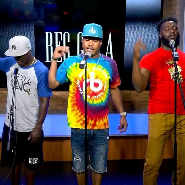 Vocal Performance By Reggie Roc, Ceej and Al Harris