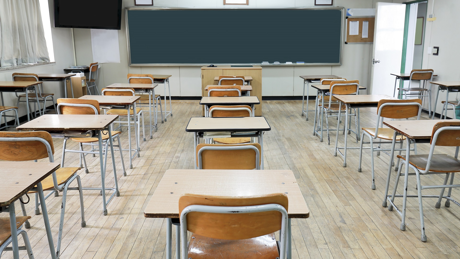 SCHOOL CLASSROOM GENERIC DESK-846652698