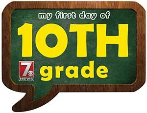 tenth grade sign