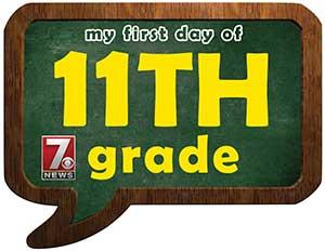 eleventh grade sign