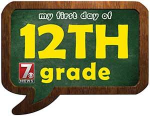 tweleth grade sign