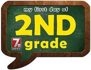second grade sign