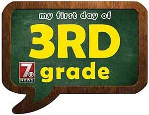 third grade sign