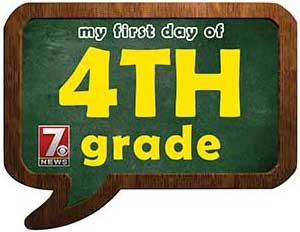 fourth grade sign