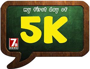 5K grade sign