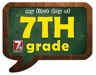 seventh grade sign