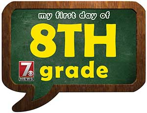 eighth grade sign