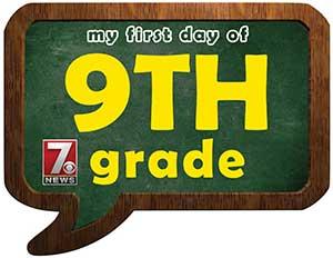 nineth grade sign