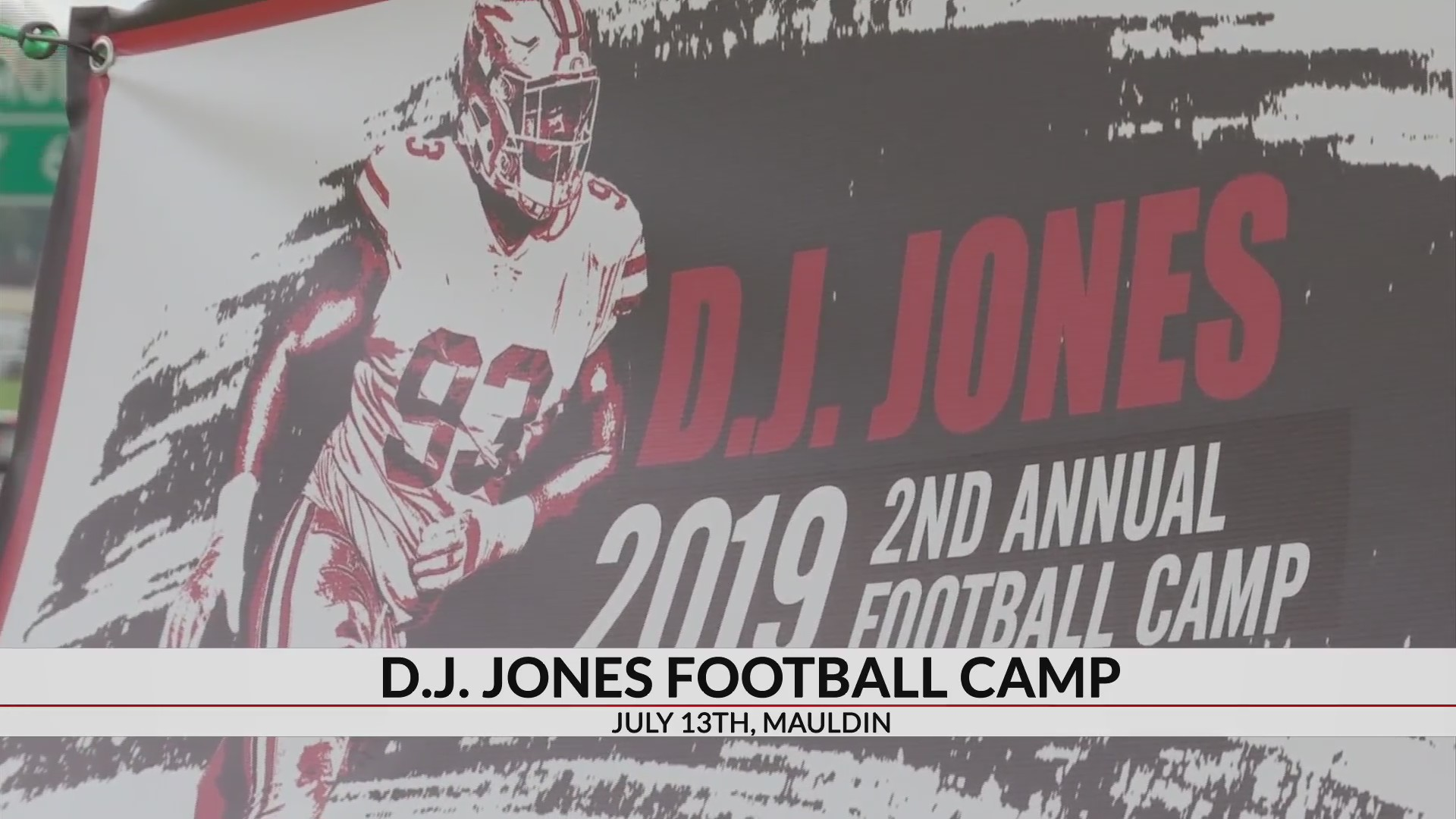 huge discount 29324 2094d 49'ers player DJ Jones to hold youth football camp in Mauldin