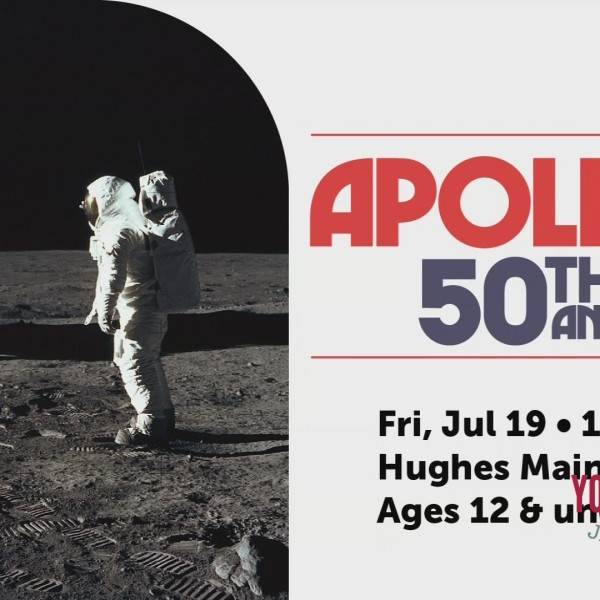 Celebrate 50th Anniversary of Apollo 11 With Greenville County Library