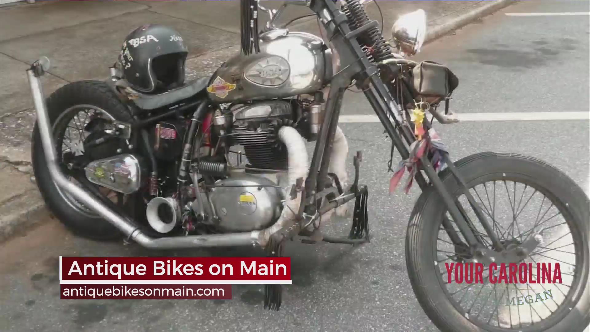 Antique Bikes on Main