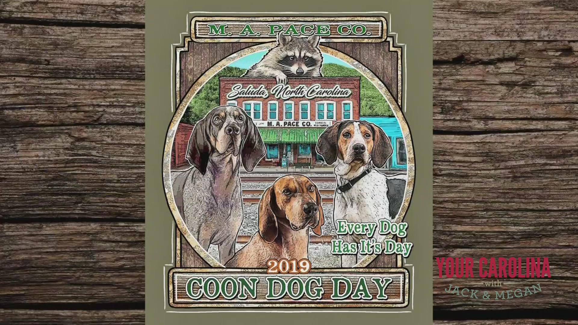 Coon Dog Day This Weekend