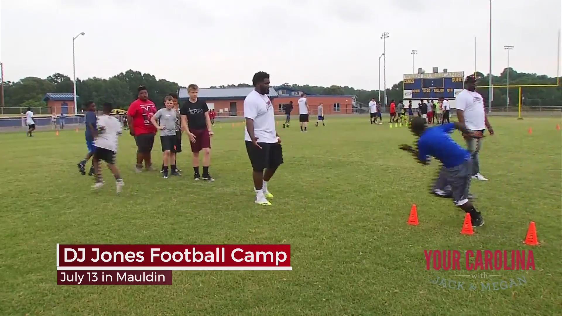 DJ Jones Football Camp