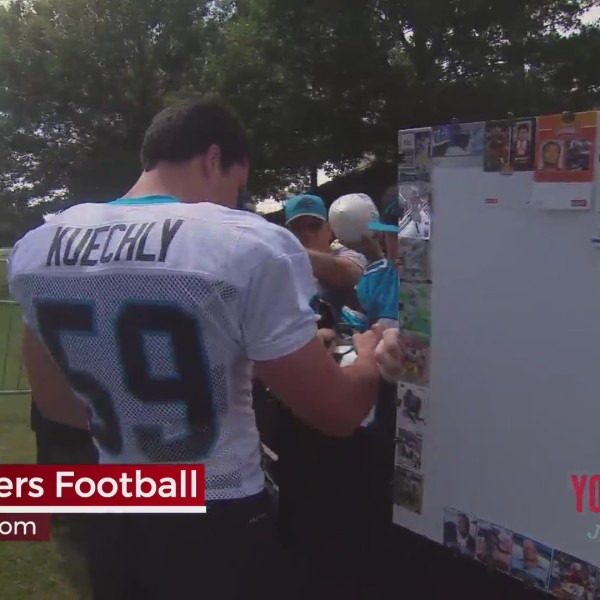 Panthers Football Training Camp Kickoff