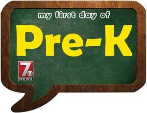 pre-k sign
