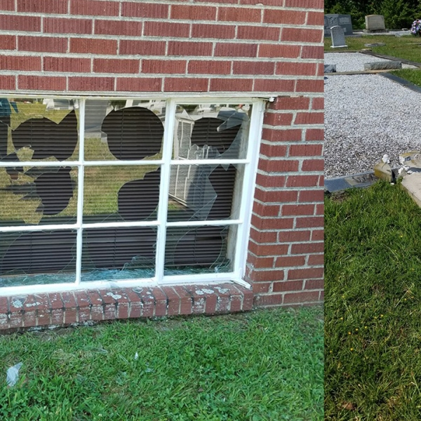 Fairview UMC vandalism
