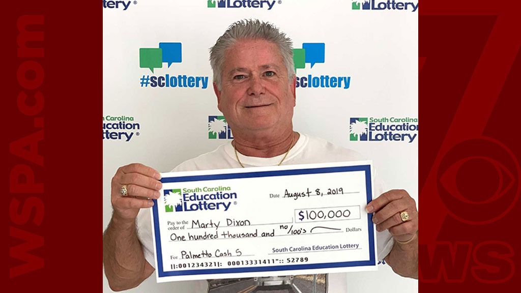 Boiling Springs man wins $100K in Palmetto Cash 5 drawing