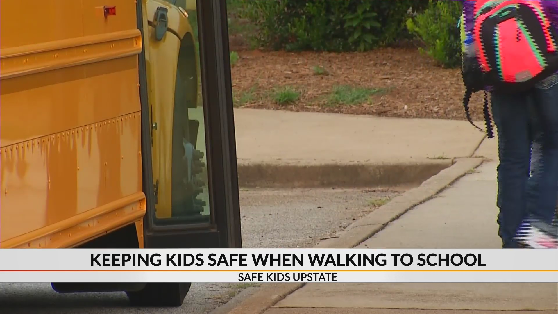 August is Back-to-School Safety Month