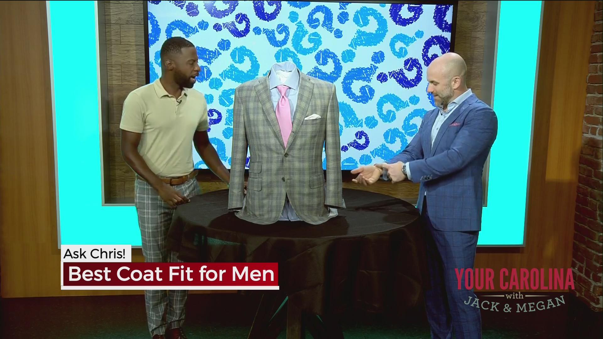 Ask Chris! Best Coat Fit for Men