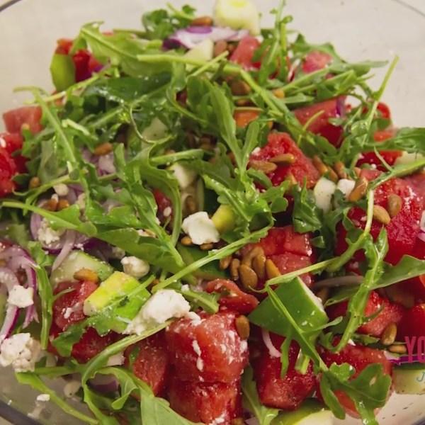 Chef's Kitchen - Greek-Style Watermelon Salad