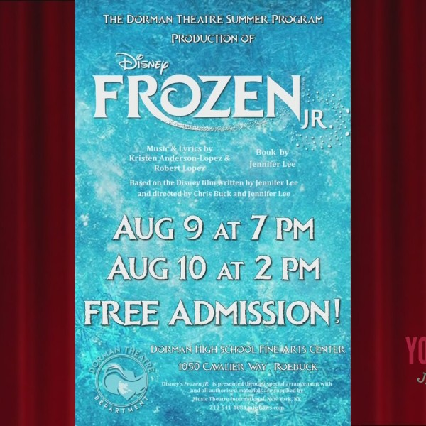 Dorman Theatre Presents Disney's Frozen Jr.
