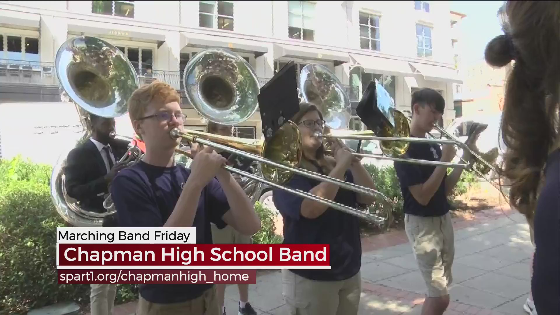 Chapman High School Marching Band