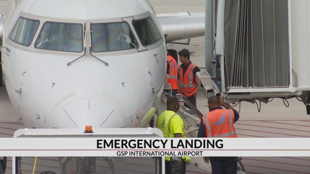 Delta flight makes emergency landing at GSP