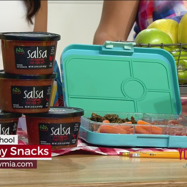 Back To School Healthy Snacks