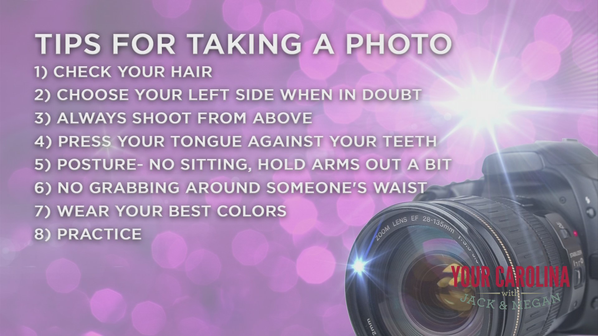 Work It Wednesday - How To Be Picture Perfect