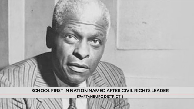Upstate district files proclamation for credit as 1st to name school after Civil Rights leader