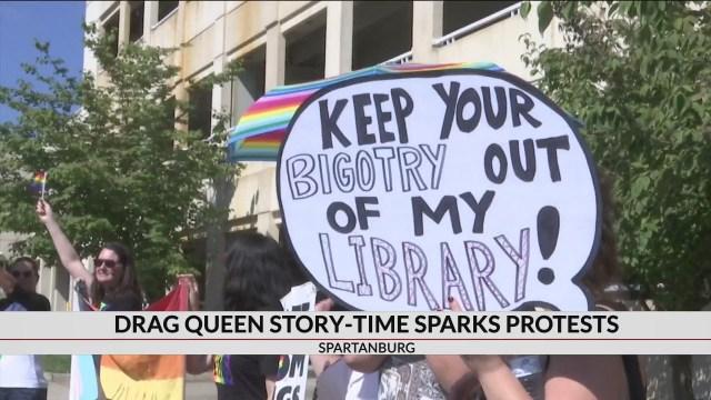 Drag Queen Story Hour held in Spartanburg