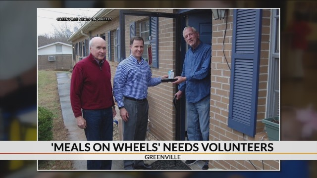 Meals on Wheels of Greenville needs volunteers, drivers