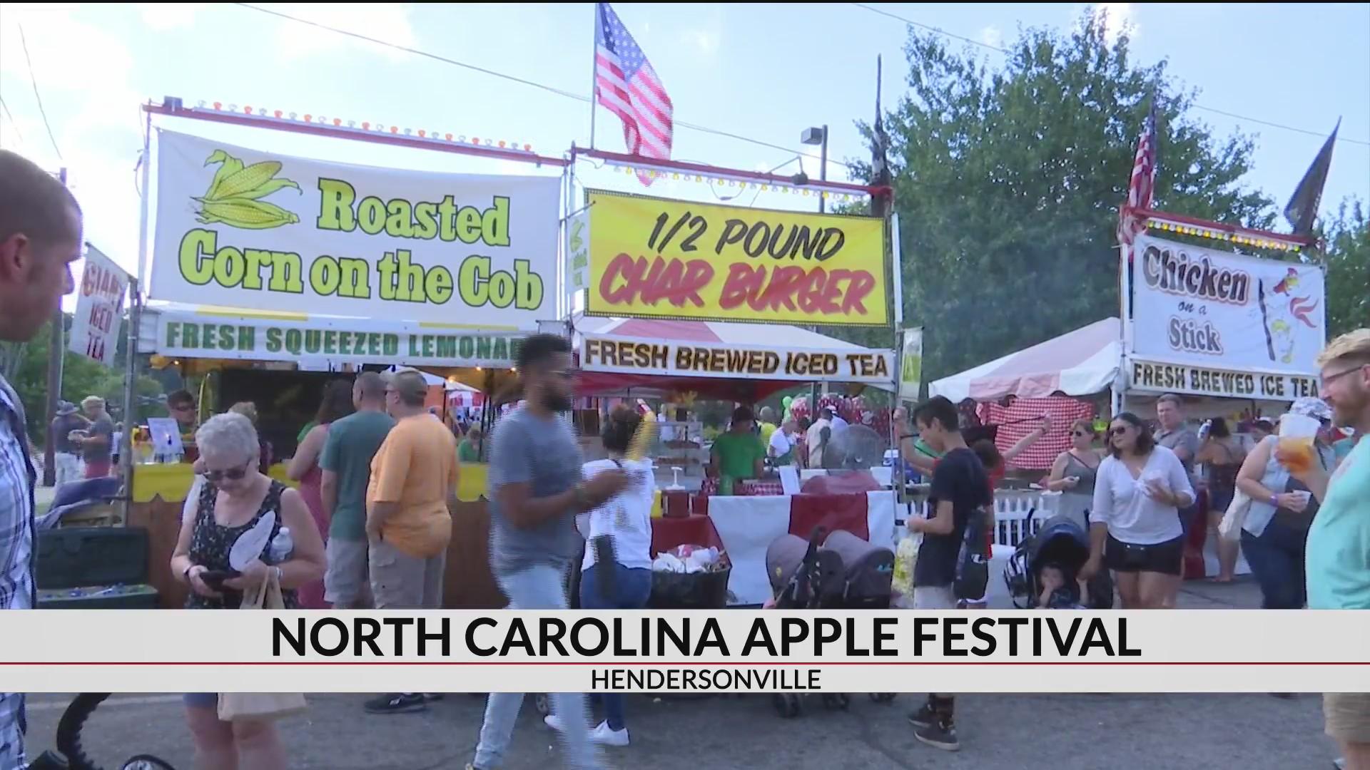 apple festival hendersonville nc 2020