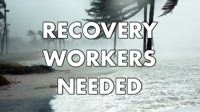 3R Inc. looking for workers to assist in recovery efforts after Hurricane Dorian