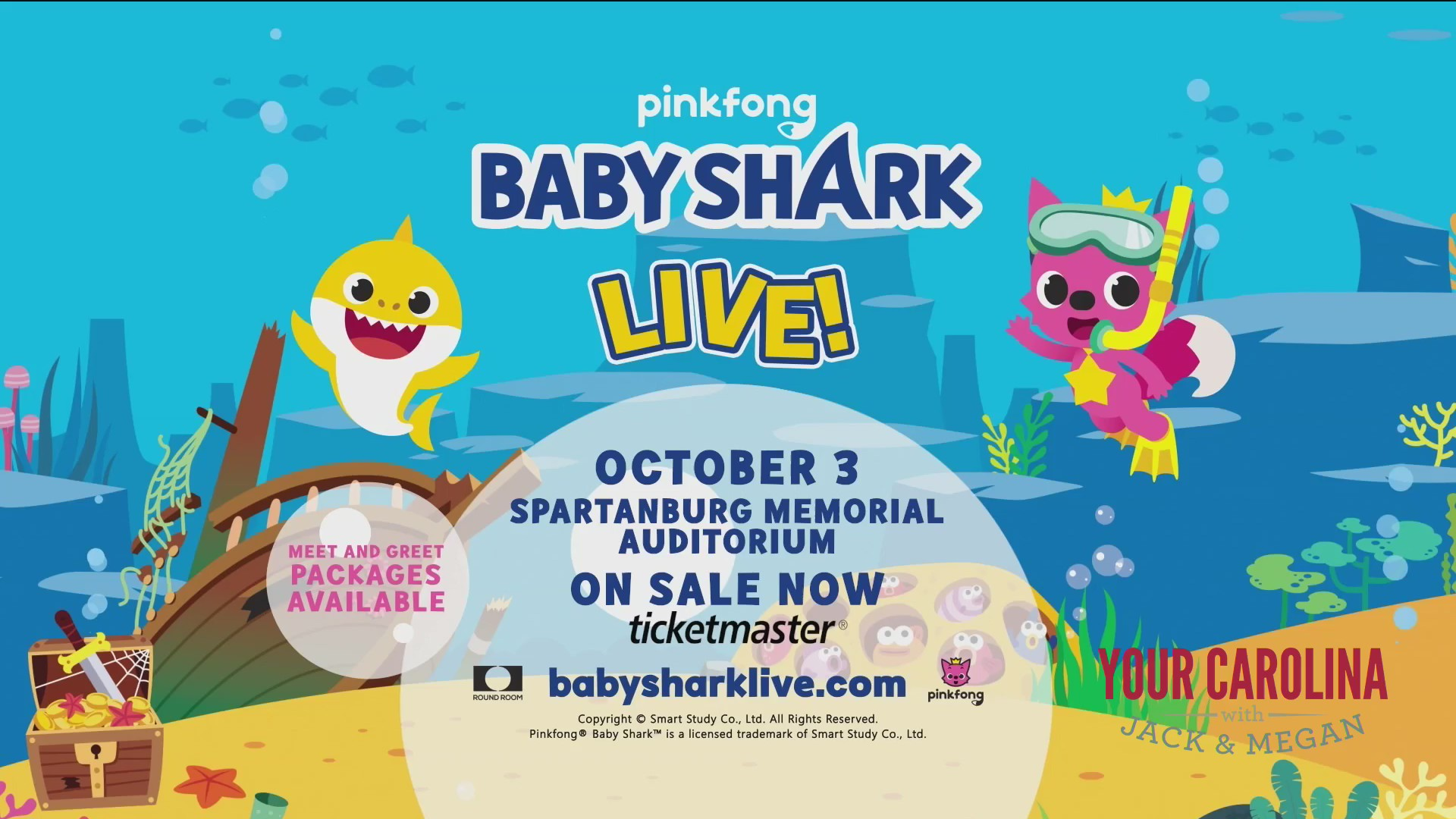 Baby Shark Live Coming To Spartanburg