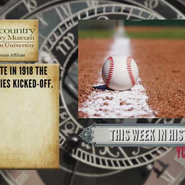 This Week In History - The World Series Kicked-Off
