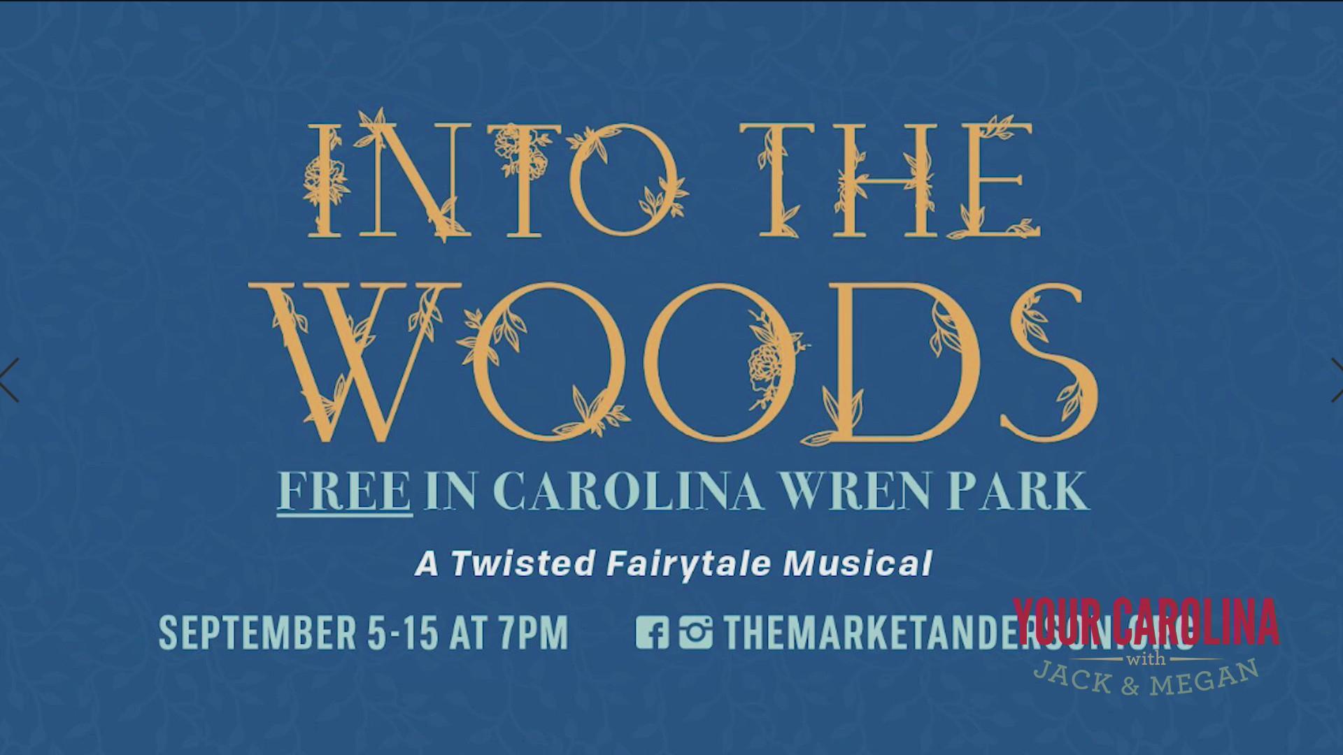 Free Outdoor Musical In Anderson