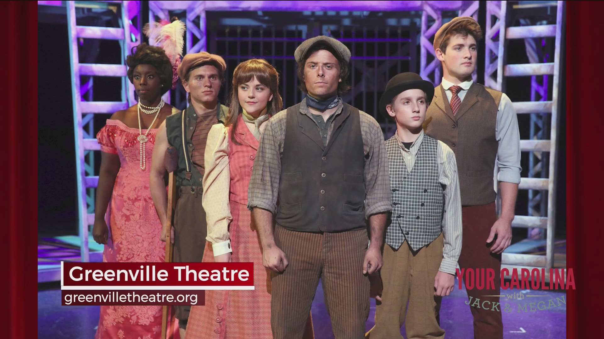 Greenville Theatre Presents NEWSIES