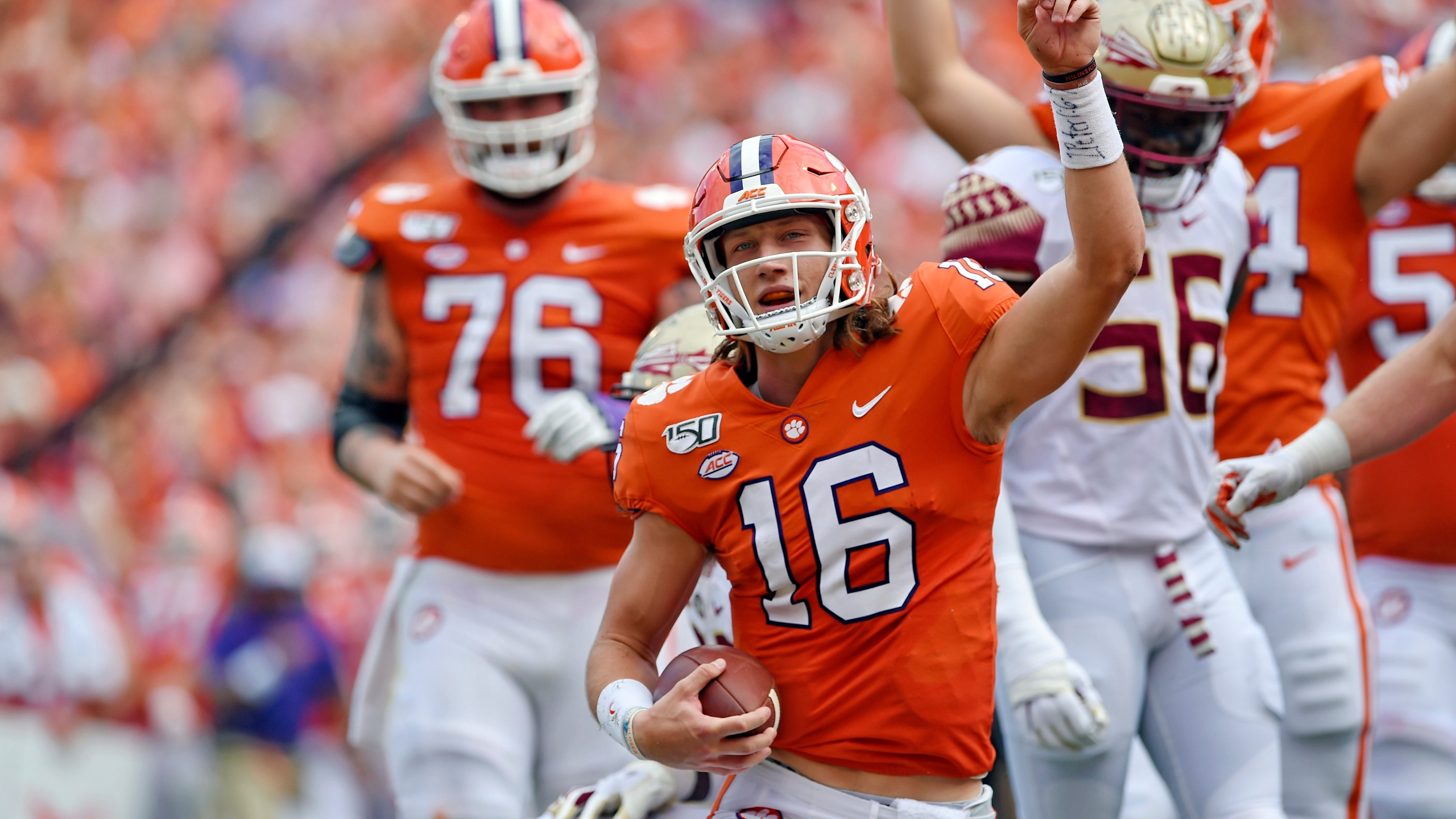 Clemson Falls To No 3 In Latest Ap Poll Georgia Drops To