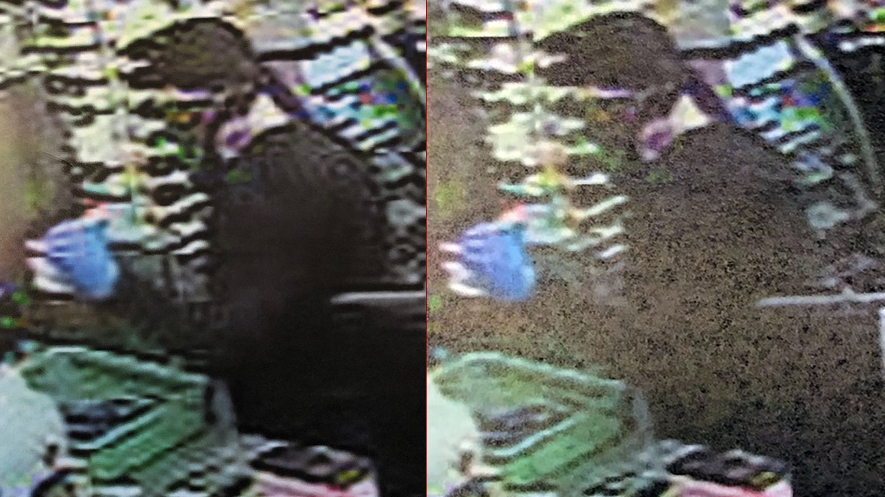 Photos from surveillance video of armed robbery at Samir's Quick Stop in McDowell Co. on Friday, October 25, 2019.