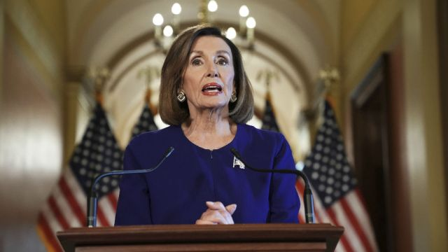 House Speaker Nancy Pelosi in Upstate today