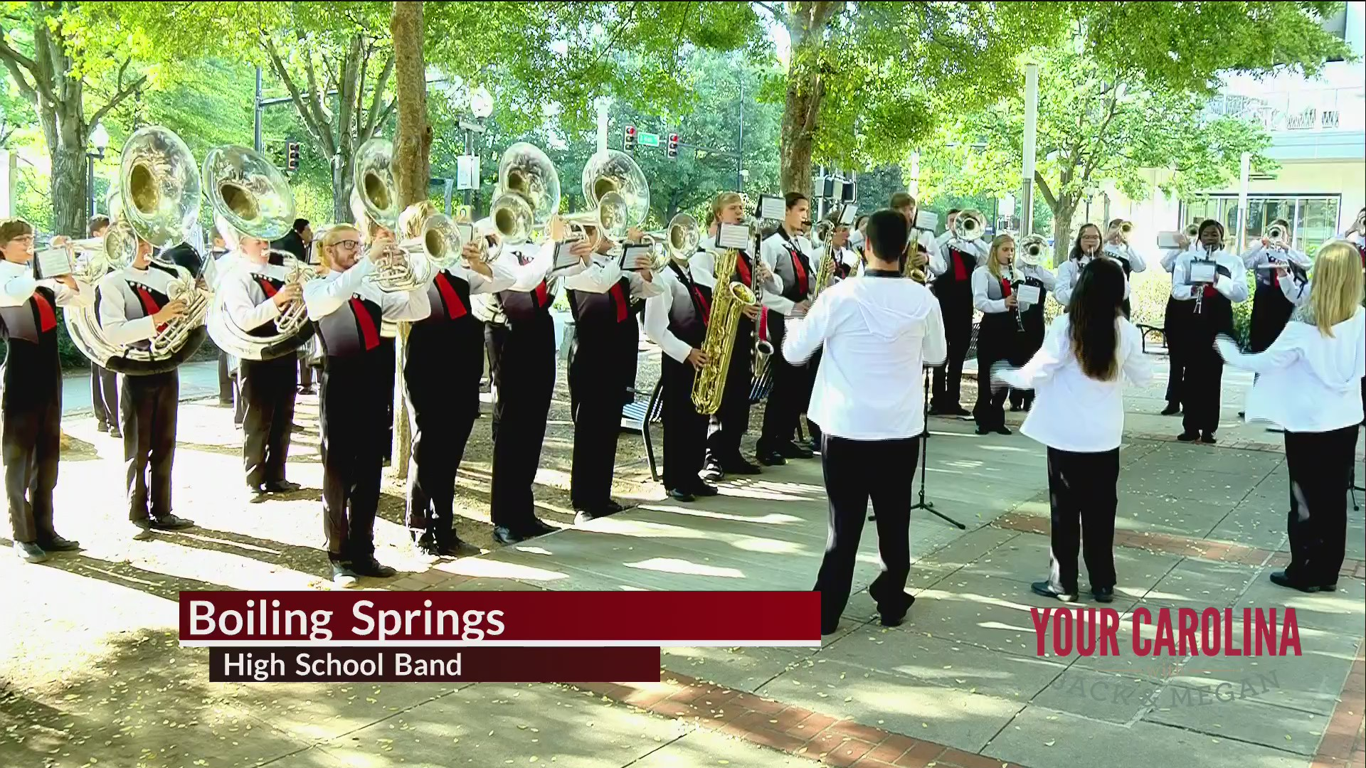 High School Band Friday - Boiling Springs High School Band