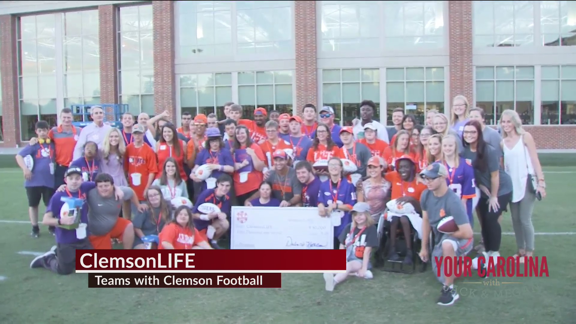 Good News - ClemsonLIFE Teams with Clemson Football
